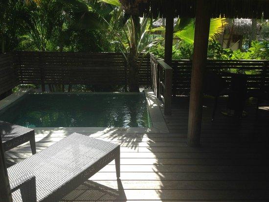 InterContinental Moorea Resort & Spa: piscina privada
