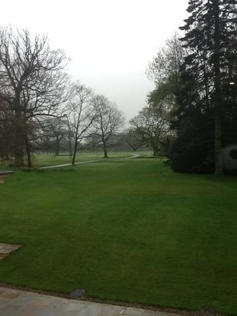 Rudding Park Hotel: View from our room