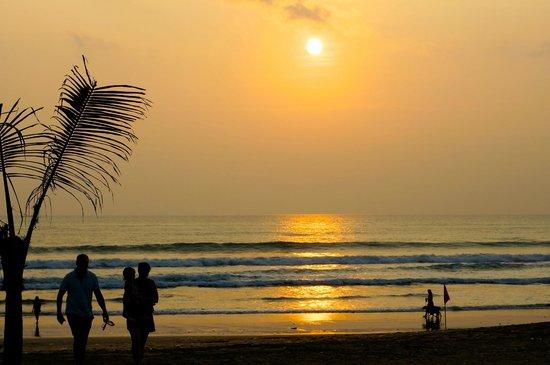 Mozzarella by the Sea at Maharta: sunset