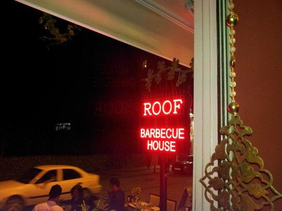 Barbecue House : Vue depuis le 1° étage