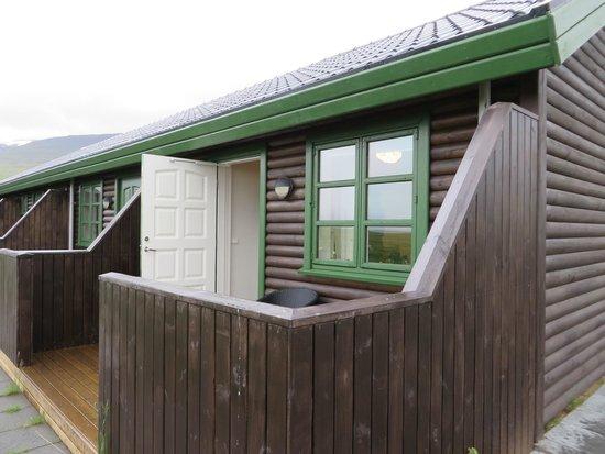 Hofsstadir Guesthouse: Terras