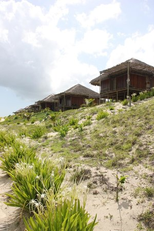 Rancho do Peixe: chalets plage