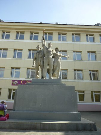Monument to Komsomols