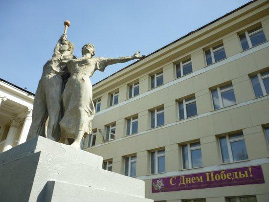 Monument to Komsomols