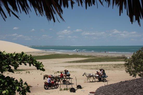 Vila Kalango : vue de l'hotel