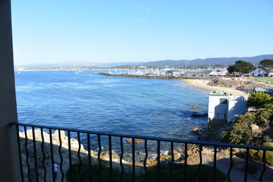 Monterey Bay Inn : View from our Room (Deluxe Ocean View)