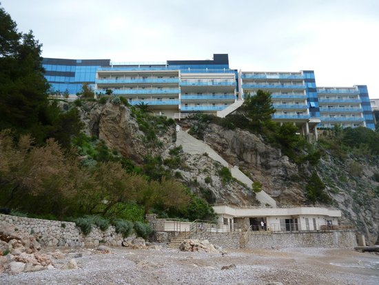 Hotel Bellevue Dubrovnik: Front of hotel.
