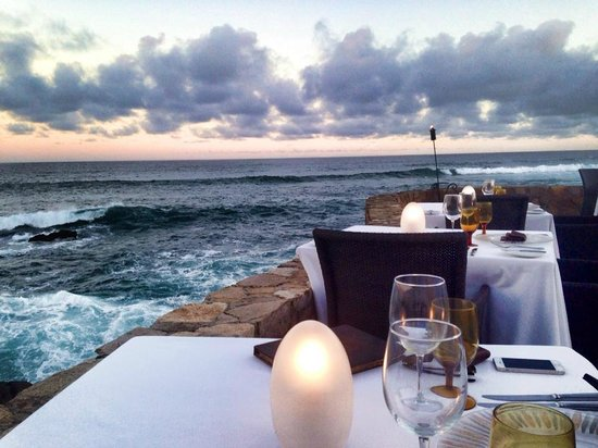Cocina del Mar: view from our table