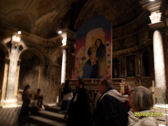 Catacombe Di San Gaudioso Napoli: All'interno della catacomba