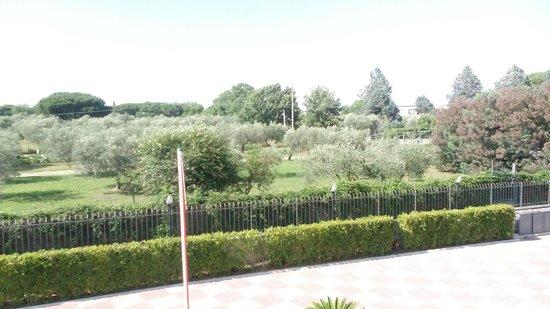 Villa Sofia : panorama dal balcone