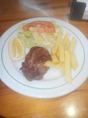 Restaurante La Tasca: solomillo de ternera