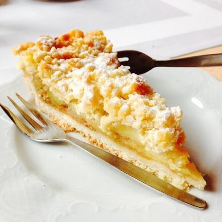 Bergrestaurant Kehlsteinhaus: apple pie