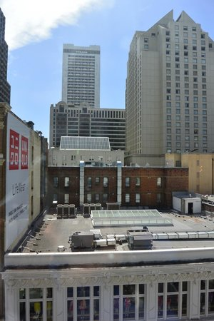 Hotel Union Square: View from our Room