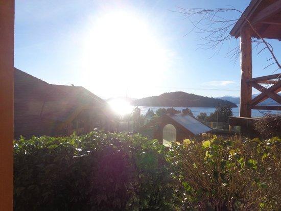 Nido del Condor Hotel & Spa: Vista para o lago