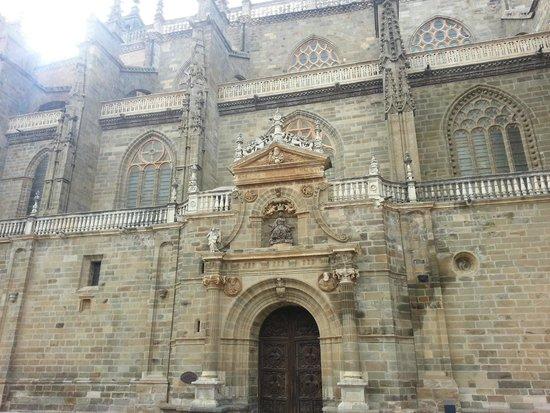 Catedral de Astorga: Visão lateral