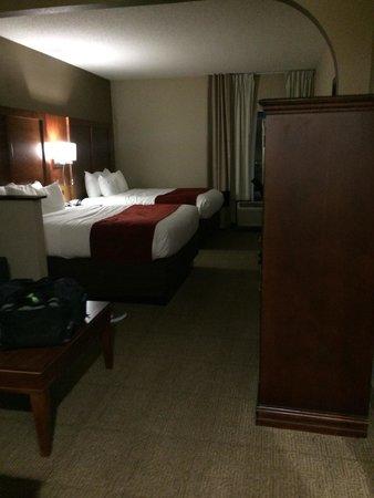 Comfort Suites University - Research Park: 2 queen room
