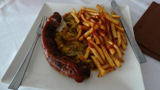 Hostal Bonavista: Lunch