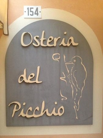 Osteria del Picchio: ingresso