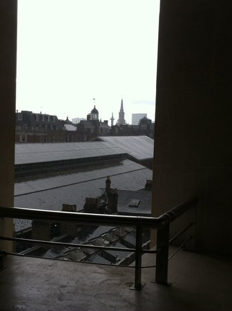 Royal Opera House: View from the terrace