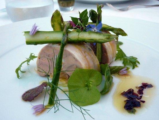 Villa Belrose Hotel : Foie gras de canard et poulpe