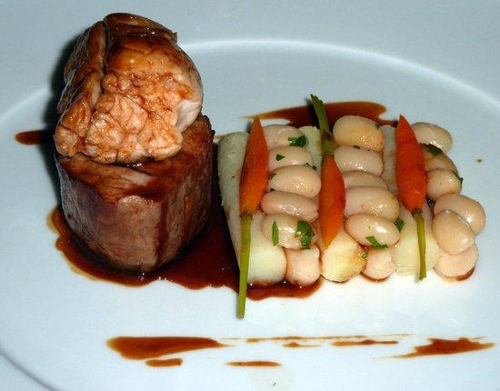 Villa Belrose Hotel : Ris et filet mignon de veau