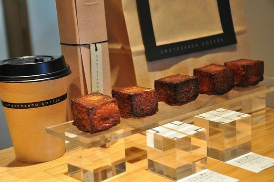 Omotesando Koffee: Baked custards