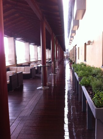 Royal Opera House: The terrace