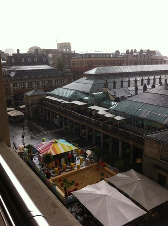 Royal Opera House: A view from the terrace