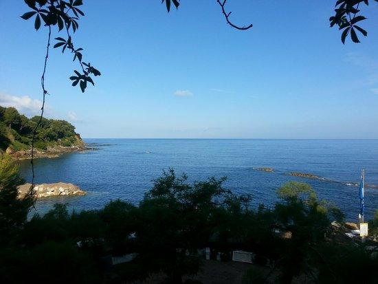 Approdo Resort: Blick aus Zimmer