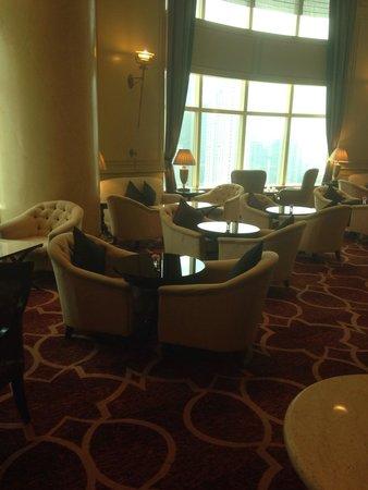 Mandarin Oriental, Kuala Lumpur : Club Lounge on 24th Floor