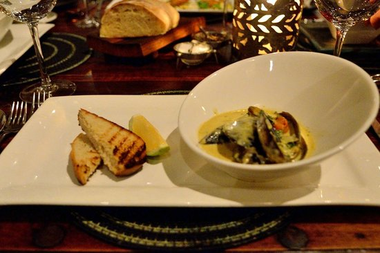 Zinzi : Moules au curry