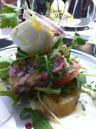 Le Devin : Salade piémontaise revue (la mayonnaise une pure merveille !)