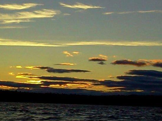 Abnaki Camping: beautiful day and night