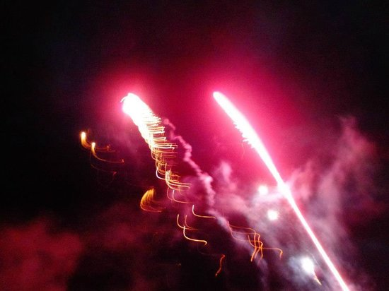 Abnaki Camping: fireworks happen often and no later than 10 pm :)