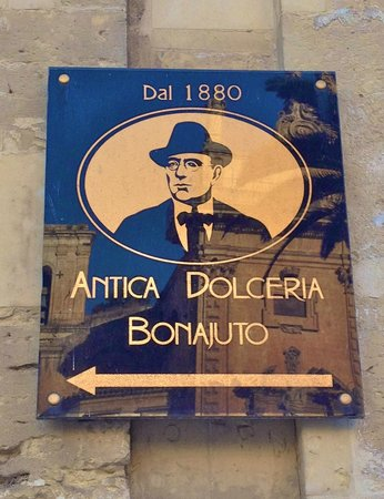 Antica Dolceria Bonajuto: Insegna