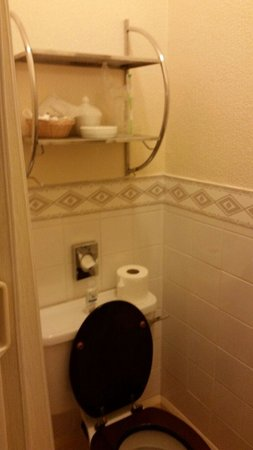 Kildare Hotel: Good size toilet