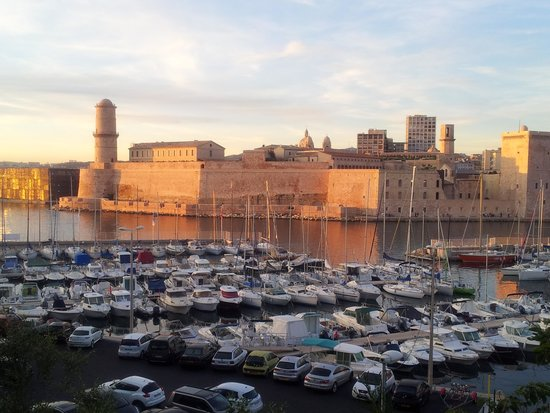 Novotel Marseille Vieux Port: view from the terrace
