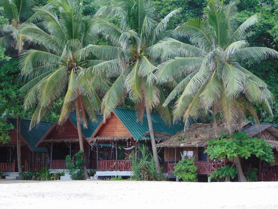 Mai Pen Rai Bungalows: Boungalow on the beach