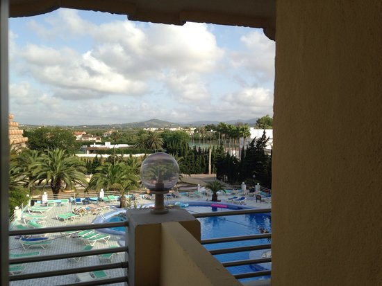 Playa Blanca Hotel : View from our balcony