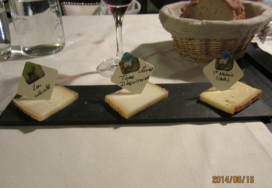 Le Gabriel: 3 kinds of goat cheese