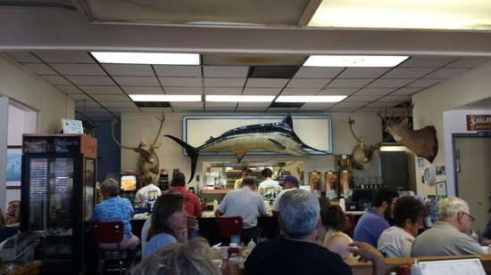 TL's family restaurant : That's a big fish!