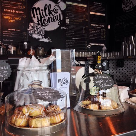 Goodies at Milk & Honey