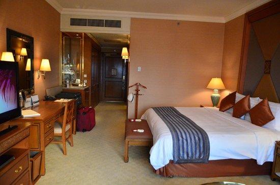 Shangri-La Hotel,Bangkok: Kungthep Wing, notre chambre