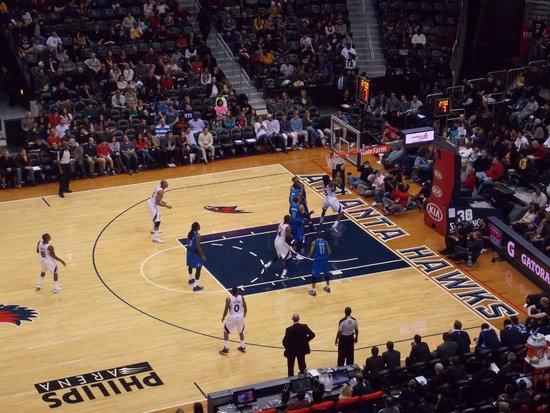 NBA na philips arena