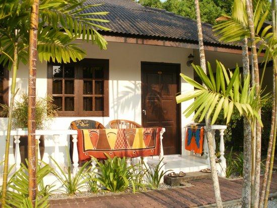 Tropical Resort : Außenansicht von unserem App.