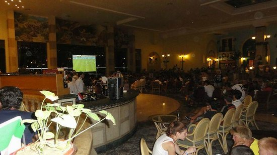 Ali Baba Palace : Lobby bar when Germany were playing