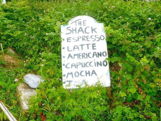 The Shack: Menu