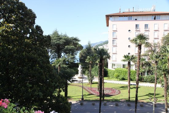 Amadria Park Hotel Milenij: View from our balcony