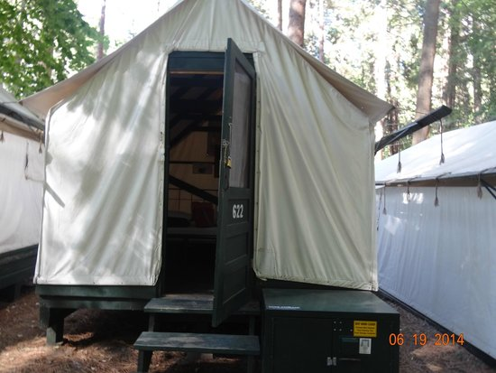 Half Dome Village : Tent from Curry Village, Yosemite