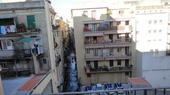 Happy Apartments: Vue de la terrasse